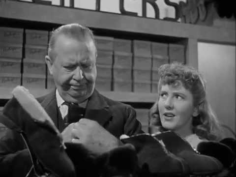 Charles Coburn Sells Shoes With Jean Arthur