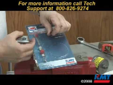 Kmt Waterjet Normally Closed Pneumatic Valve Seal Repair
