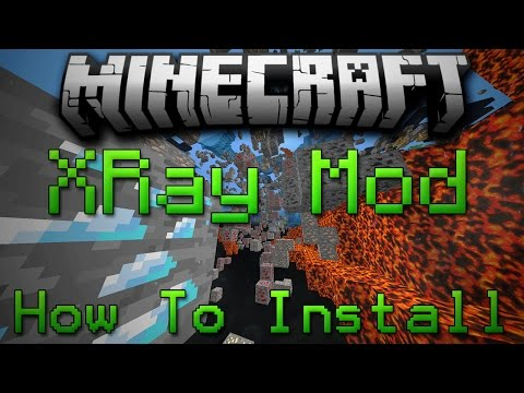 Minecraft 1.8: How To Install XRay Mod Without Forge!