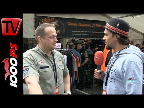 Harley Davidson St. Pölten Interview - EBW 2014