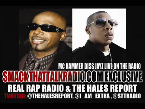MC HAMMER DISS JAYZ LIVE UNCUT ON THE RADIO..FIRST INTERVIEW EVER