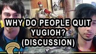 WHY DO PEOPLE QUIT YUGIOH? (DISCUSSION VIDEO) FT PINK REAPER, WHY HE QUIT, HALO gameplay)