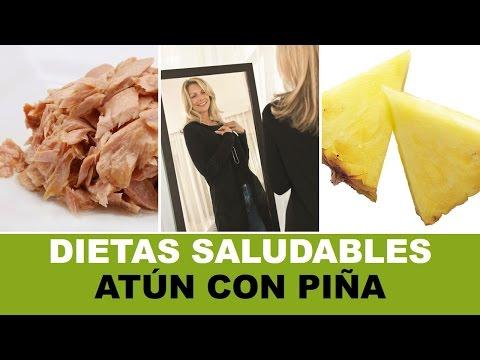 Dietas Saludables Atún Con Piña