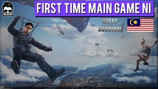 FIRST TIME MAIN GAME RULES OF SURVIVAL