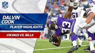 Every Dalvin Cook Touch Against Buffalo | Vikings vs. Bills | Preseason Wk 1 Player Highlights