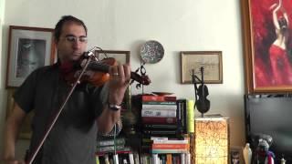 "Persian Music: ""Faydeh Nadareh"" by Babak Sabetian on Violin | دیگه عاشق شدن فایده نداره بابک ثابتیان"