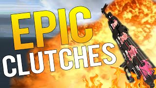 CS:GO -  BEST OF PRO CLUTCHES 2016 EDITION