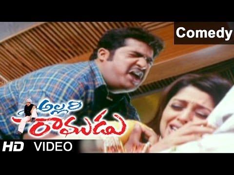 Allari Ramudu Movie Scenes | Hilarious Comedy Between Nagma & Jr. N.t.r video
