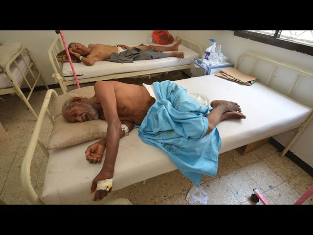 10k+ cases of cholera grip war-torn Yemen
