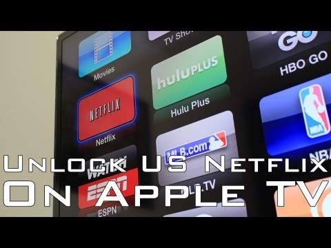 Get US Netflix on Apple TV [3rd JANUARY 2015]