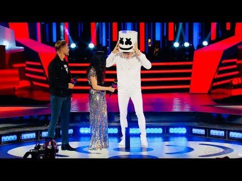 Marshmello SHOCKS MMVAs crowd by REVEALING he isShawn Mendes?