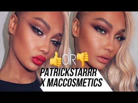 PATRICKSTARRR X MACCOSMETICS FIRST IMPRESSIONS & TUTORIAL | SONJDRADELUXE