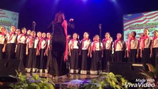 Janam Janam, Dilwale by Piacere,SKBD. Malaysia International Children Choral Festival