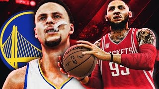 NBA 2K17 MyCAREER LVP - NBA Playoffs WCFG4 - SWEPT THE WARRIORS!? Justice is So F#CKING TRASH!!!!