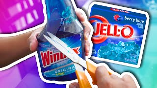 DIY How To Make Jelly Windex! Jello Glass Cleaner! | Super Fun & Easy Fail!