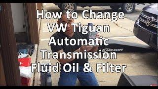 VW/Volkswagen Tiguan Automatic Transmission Fluid Oil & Filter Complete Instructions