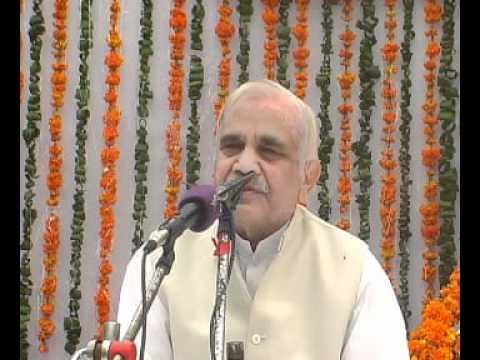 Ramashram Satsang Mathura - Bade Babuji's Pravachan prem Ka Swaroop video