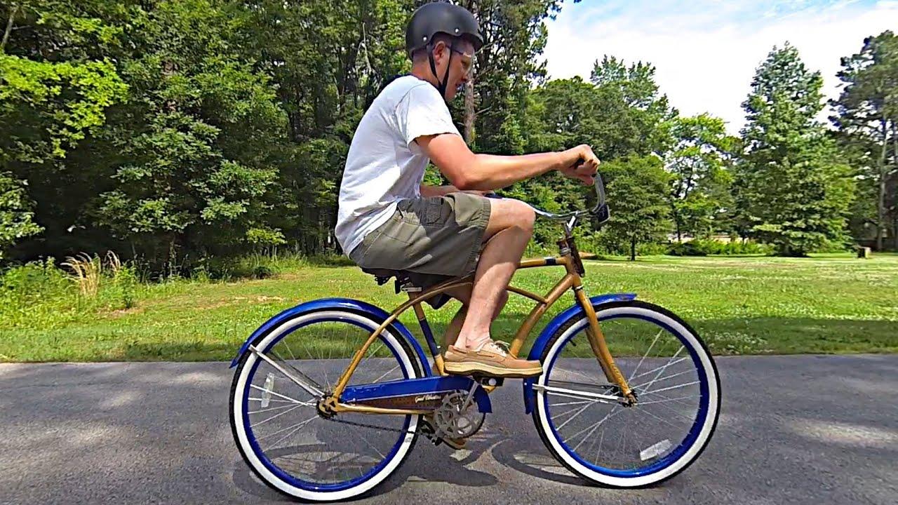 Как сделать так чтобы велосипед ехал быстрее