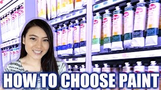 Student Grade vs Artist Grade Paint - How to choose your acrylic paint | LittleArtTalks