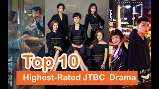 Top 10 Highest-Rated JTBC Korean Drama