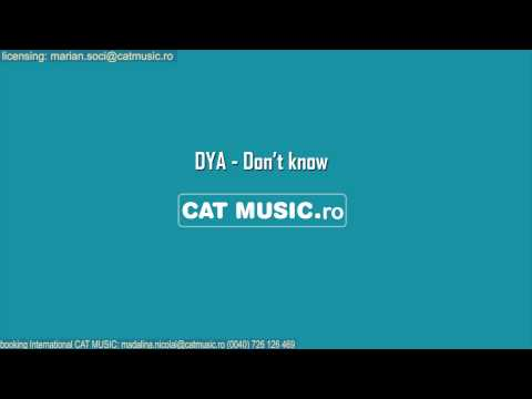 Sonerie telefon » DYA – Don't Know (Radio Edit)