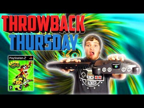 #THROWBACKTHURSDAY   Crash Twinsanity (PS2)