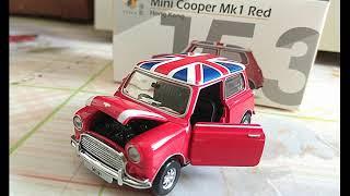 Tiny Model Mini Cooper Mk 1 Red