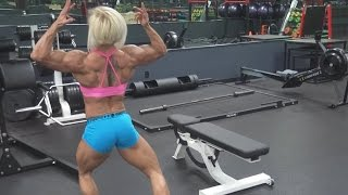 IFBB Physique Pro Brooke Walker talks with Best Muscle Video