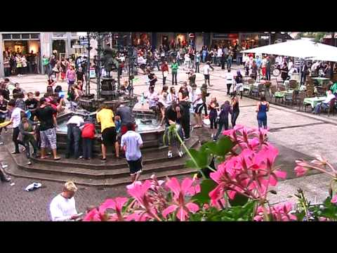 Flash-Mob in Göttingen