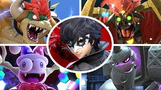 Joker vs All Bosses in Super Smash Bros Ultimate