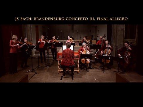 Bach: Brandenburg Concerto No. 3 BWV 1048, Final Allegro, Voices of Music