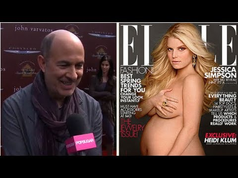 Fashion Star's John Varvatos gives us his take on Jessica Simpson's naked ...