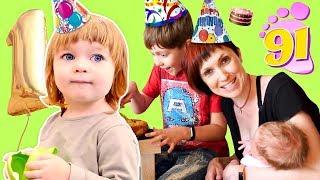 Привет, Бьянка и Карл - День Рождения - Мама Маша Капуки собирает гостей