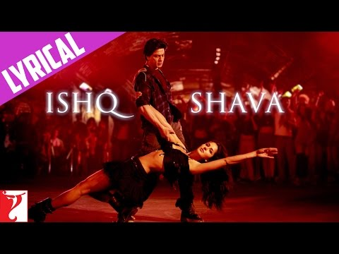 Ishq Shava - Song With Lyrics - Jab Tak Hai Jaan video