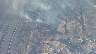 Live: Brush Fire In Simi Valley Southeast of Ventura