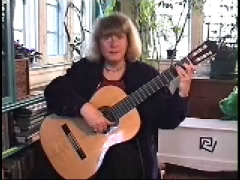 The Ida Presti right hand technique for guitar - Alice Artzt - 4/4