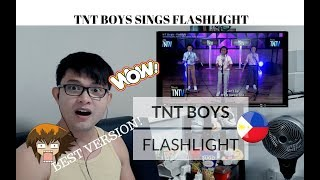 [REACTION] HARMONY AT ITS BEST! TNT BOYS sings FLASHLIGHT by Jessie J | #JANGReacts