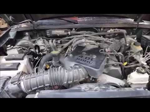 (part1)FORD 4.0L v6 sohc coolant leak find and repair  (HOW TO)