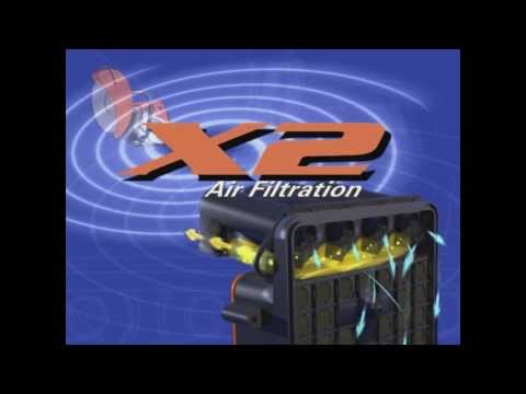 The STIHL X2 Air Filtration System