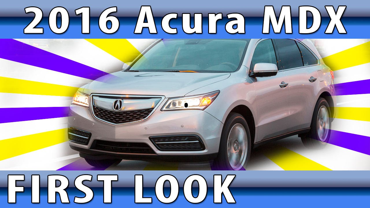 ✮ 2016 Acura MDX Review: Chicago Auto Show, Review of New Generation of 2016 Acura MDX ✮