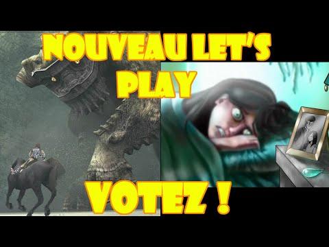 Prochain let's play : venez voter !