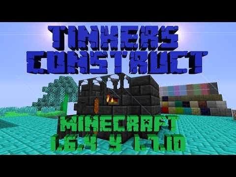 REVIEW DEL MOD TINKERS CONSTRUCT!!!   MINECRAFT 1.6.4 Y 1.7.10