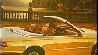 Chrysler's TC by Maserati dealer confidential information tape 1