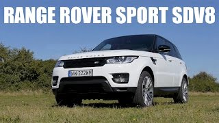 (ENG) Range Rover Sport SDV8 2014 - Test Drive and Review