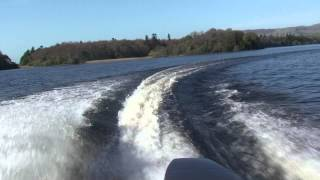 17 ft speed boat and 85 hp yamaha two stroke