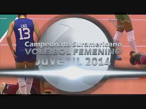 Campeonato Sudamericano de Voleibol Femenino Juvenil 2014 - Match #2: Colombia vs. Brasil