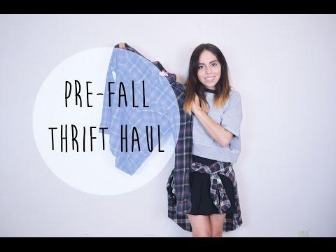 Pre-Fall Thrift Haul | The Fashion Citizen