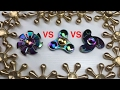 Rainbow Zinc Alloy Fidget Hand Spinner Review + Spin Time Comparison