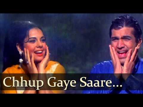 Chhup Gaye Sare Nazare ... Rajesh Khanna & Mumtaz ... Do Raaste...