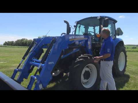 New Holland T4 UTILITY Tractor Features